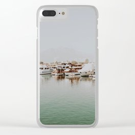 hong kong gold coast Clear iPhone Case