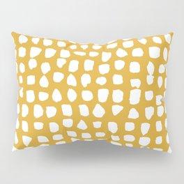 Dots / Mustard Pillow Sham