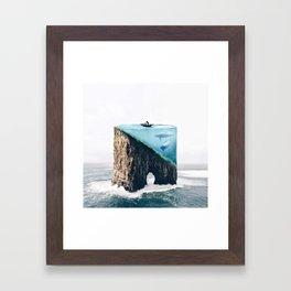 Mystical Island Framed Art Print