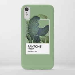 Pantone Series – Banana Leaf iPhone Case