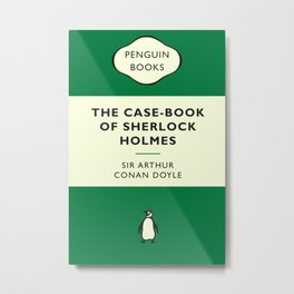 The Case-Book of Sherlock Holmes Metal Print