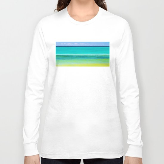 the colors of the sea Long Sleeve T-shirt