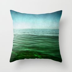 sea square XIV Throw Pillow