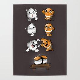 Sushi Fusion Poster