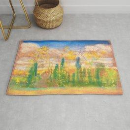 12,000pixel-500dpi - Spring - Arthur Bowen Davies Rug