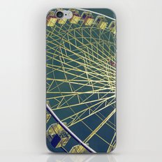 Big wheel iPhone Skin