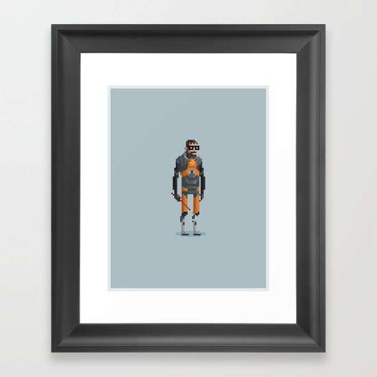 Man With a Crowbar Framed Art Print