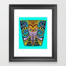 King Squid Framed Art Print