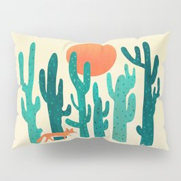 Desert fox Pillow Sham
