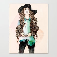 Boho Chic Canvas Print