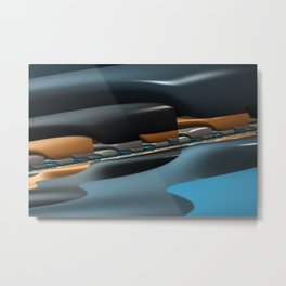 Streamliner no. 1 Metal Print