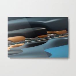 Streamliner no. 1 Metal Print