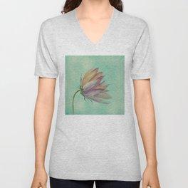 Rainbow flower Unisex V-Neck