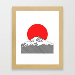 Rising Sun Framed Art Print