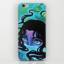 Pond Girl iPhone Skin