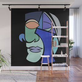 The Face 2 Wall Mural