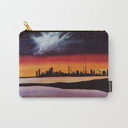 Abu Dhabi, watercolor Carry-All Pouch