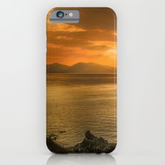 Sunset over Lismore Island of the shores of Oban in the west of Scotland. iPhone 6s Slim Case