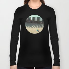 Rubik shading in the beach Long Sleeve T-shirt