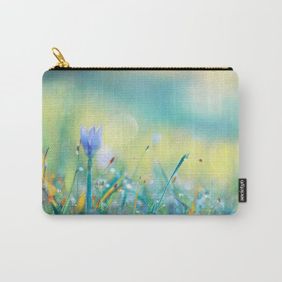 The Lady of Sun Carry-All Pouch