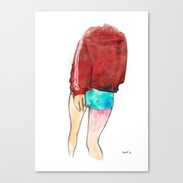 turn or burn Canvas Print