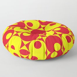 Back to the 70's Floor Pillow