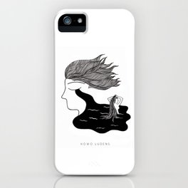 Men Cry More iPhone Case