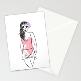 Dead Beauty Stationery Cards