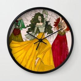 Romani Dances Wall Clock