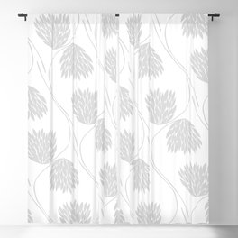 Floral No2 Blackout Curtain