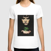 the lord of the rings T-shirts featuring Frodo - Lord of the Rings by Hilary Rodzik