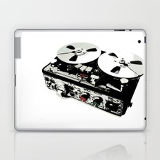 the ultimate tape recorder Laptop & iPad Skin
