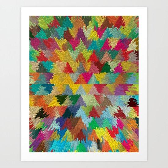 Colors II Art Print