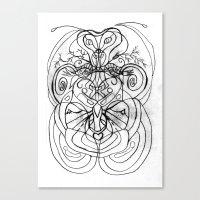 ladybug Canvas Prints featuring Ladybug. by sonigque