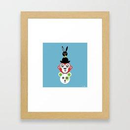 Stapla Framed Art Print