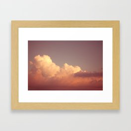 Skies 03 Framed Art Print