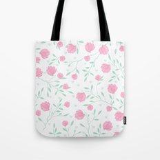 Floral pattern design Tote Bag