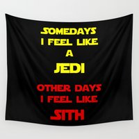 sith Wall Tapestries featuring Feel Like Sith by Kramcox