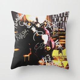 ENTER THE WU-TANG Throw Pillow