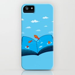 Sea of wisdom iPhone Case
