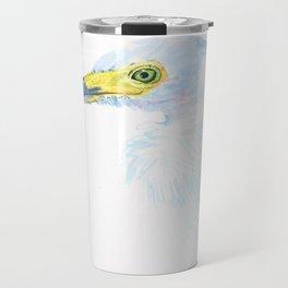 Green Eyed Heron Travel Mug