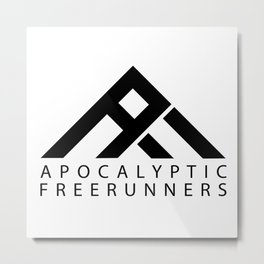 Apocalyptic Freerunners Metal Print