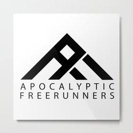 Apocalyptic Freerunners Metal Print