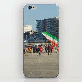 Chars à voile Beach iPhone Skin