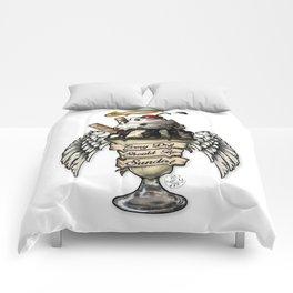 Sundae Fundae Comforters