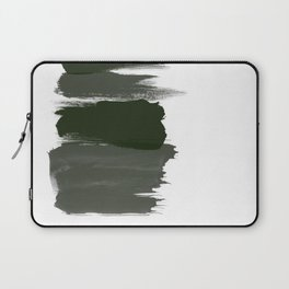 Bold brushstrokes with mosaic stripes Laptop Sleeve