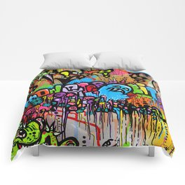 A Monster City Hello Comforters