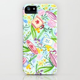 Spring High Tea iPhone Case