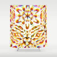 prism Shower Curtains featuring Prism Brake by Lynsey Ledray