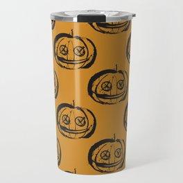 Spooky Pumpkinhead Travel Mug